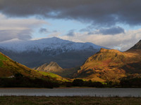 Looking up the Nantlle Valley