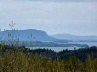 Mount Kineo and Moosehead Lake
