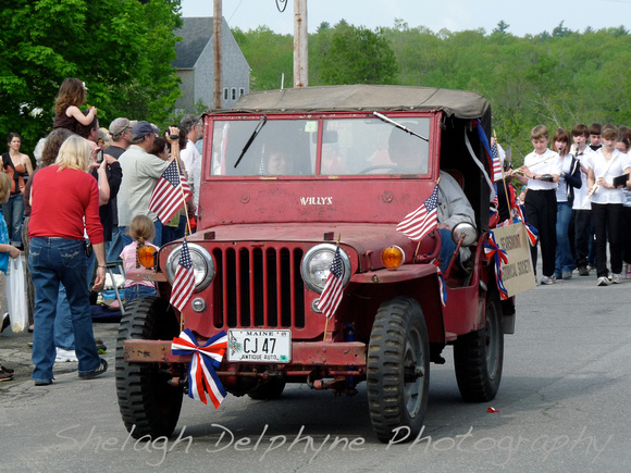 2011 Memorial Day Parade in Searsmont, Maine