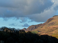 Last of the Evening Light at Cwm Pennant
