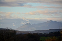 Snowdonia from the east