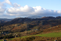 Over Croesor, across to Snowdon